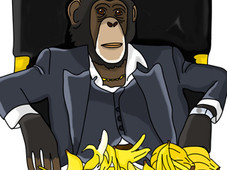 Bananas Power Respect T-Shirt Design by