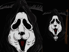 scream panda T-Shirt Design by