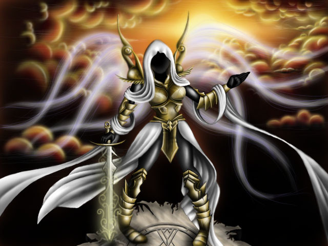 Auriel, the Archangel of Hope