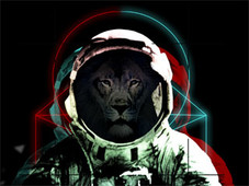In space no one can hear you roar. T-Shirt Design by