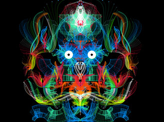 Neon Owl Avatar by spires