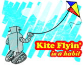 Kite Flyin' is a Habit by augie