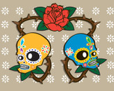 Day of the dead by jonnostevens