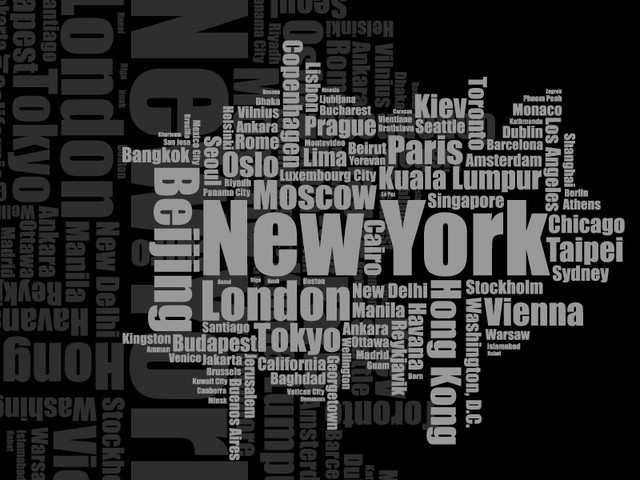 Tag Clouds of New York