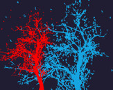 red tree, blue tree by newbie