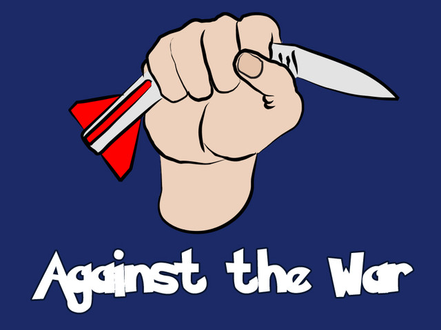Against the war