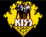 Kiss T-shirt Design by Knowles09 by knowles09