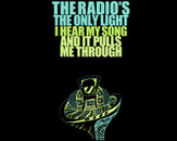 The radio's the only light by deathcab4candi