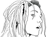 dreads by azzrizal