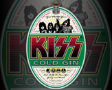 KISS - Cold Gin Label by ronnyp