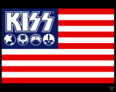 KISS ARMY / KISSNATION FLAG by theNEWgod
