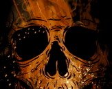 Golden Skull by alnavasord