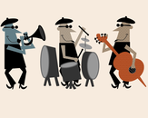 Jazz Dudes by Sainsy