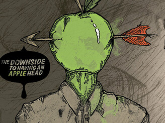 The Downside To Having An Apple Head by kristenhoward