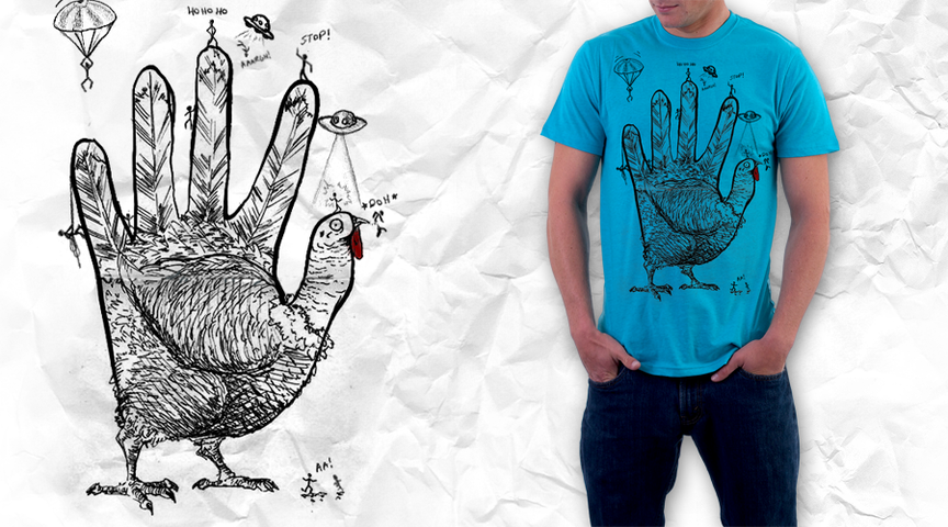 hand turkey vs. stick people