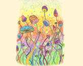 Magical Mushrooms by mandyrae67