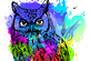 Kwago De Colores (Colorful Owl).
