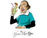 Drunk Shakespeare by JohnyGoa