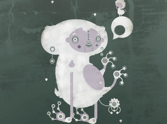 White Koala by Yema-Yema