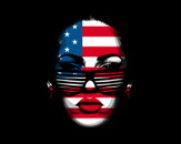 USA Girl face by carliw