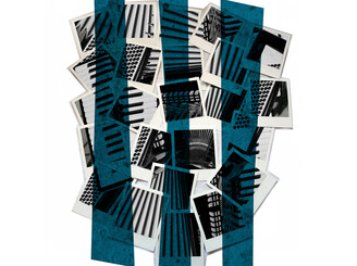 Polaroid accordion by okeefeness