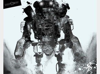 Faded_Robot by Studio8Worx