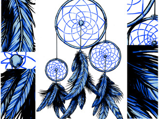 WINTER DREAMCATCHER by vinbasshred