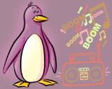 Hip-Hop Penguin by ToXiC