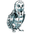 Mecha Owl by Sketchist