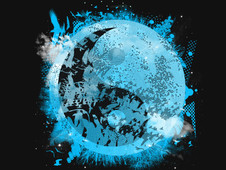 planet  fusion v3465 T-Shirt Design by