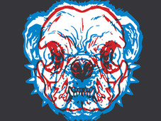 SkullDogBull T-Shirt Design by