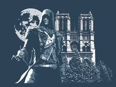 Into the Night T-Shirt Design by