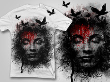 Pain of Yesterday T-Shirt Design by