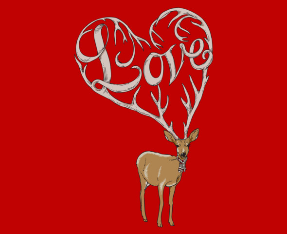Love Deer Shirt
