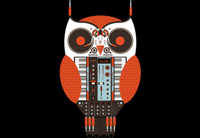 Owl DJ  Artwork