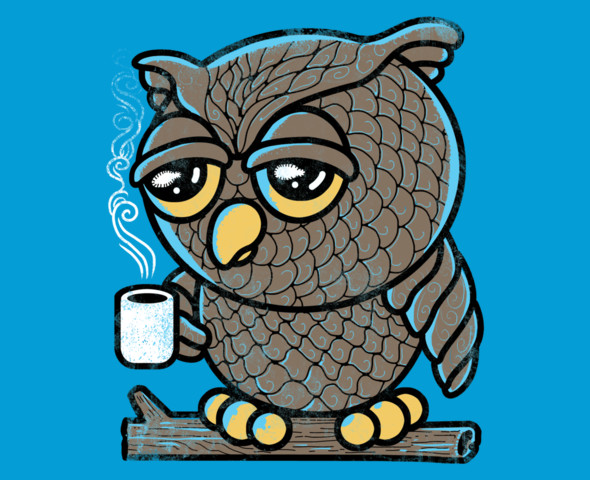 Owl want Coffee Shirt