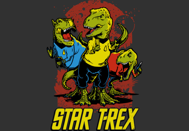 Star T-Rex  Artwork