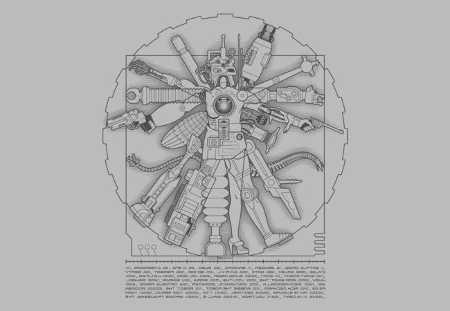 Vituvian Machine  Artwork