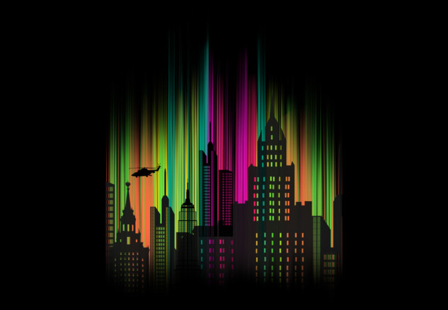 The Neon City  Artwork