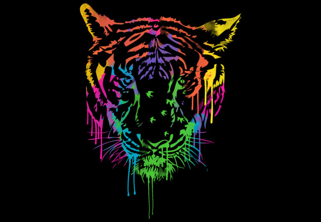 WILD & COLORFUL  Artwork
