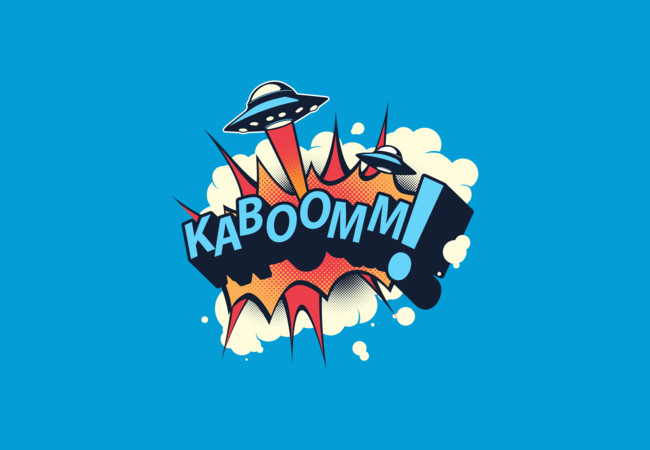 KABOOMM!  Artwork