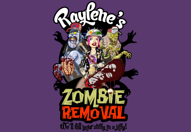 Raylene's Zombie Removal  Artwork