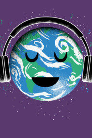 The whole earth loves music