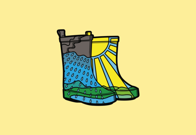 Rainy Day Boots  Artwork