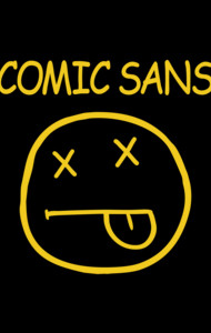 Smells Like Comic Sans