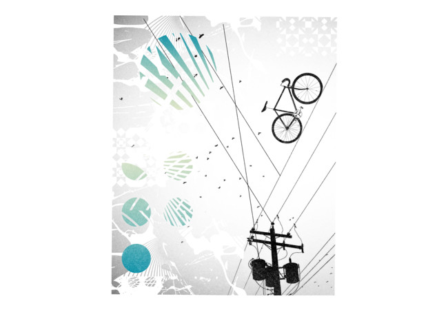 Bike Line  Artwork