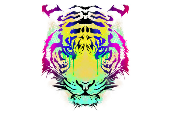 Tiger Look  Artwork
