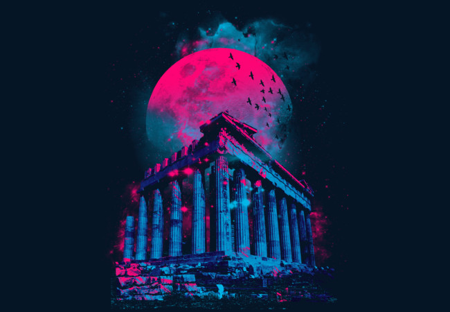 Grecian Moon  Artwork