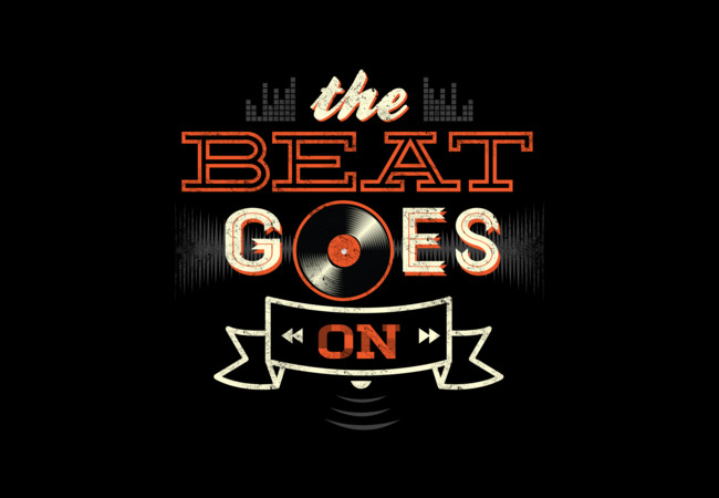 THE BEAT GOES ON  Artwork