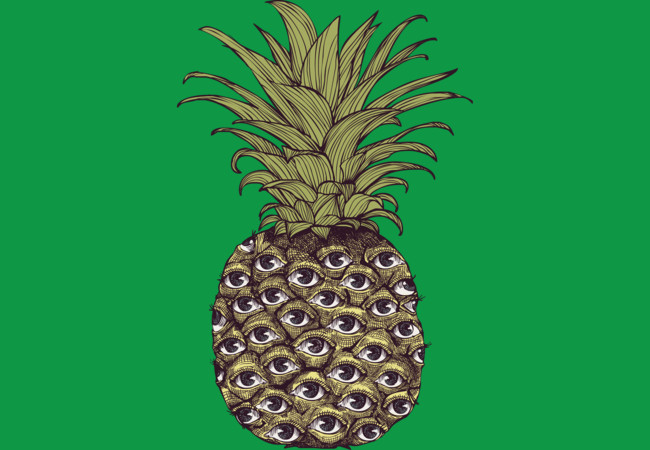 Pineapple Eyes  Artwork